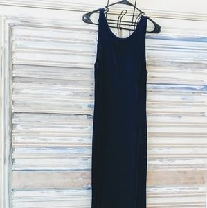 Dark blue Coldwater Creek Maxi dress